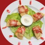 Appetizer Bacon Pierogi