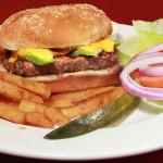 Northwood Inn Grilled Avocado Burger