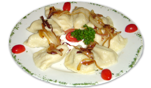 Perogies at Northwood Inn