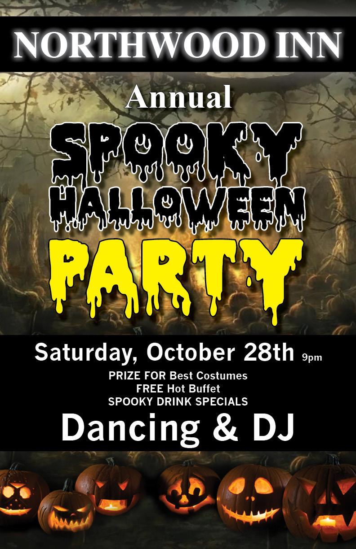 Northwood Inn Annual Halloween Party