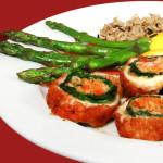 Northwood Inn Grilled Chicken Cordon Bleu and Crab Meat