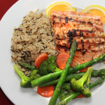 Northwood Inn Grilled Salmon